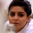 """Tara Khattar  - """"Top Chef 2018"""" sur M6. Le 7 février 2018."""