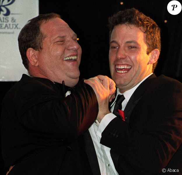 Harvey Weinstein et Ben Affleck à Cannes en mai 1999