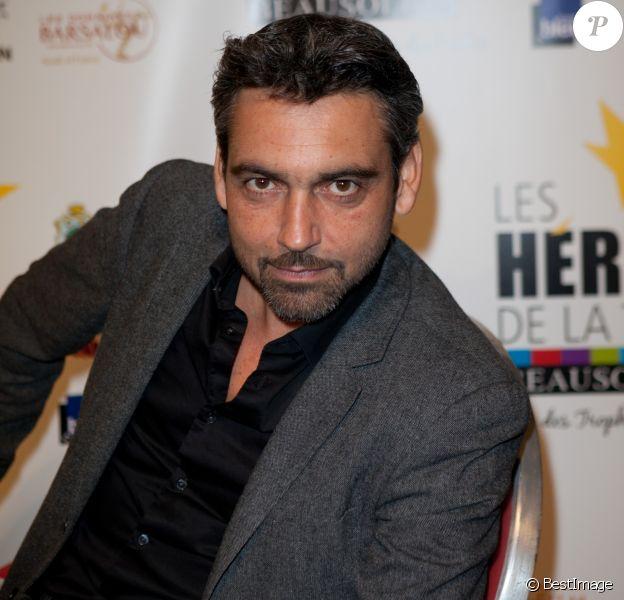"Arnaud Giovaninetti - 3e festival ""Les Heros de la Tele"" à Beausoleil le 11 octobre 2014."