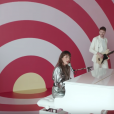 Juliette Armanet - image extraite du clip L'indien - janvier 2018.