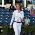 Eve Jobs (fille de Steve Jobs) participe au Concours hippique Winter Equestrian Festival (WEF) à Wellington en Floride le 10 février 2018.