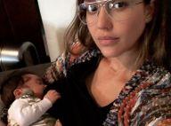 Jessica Alba : En sueur à la salle de gym, six semaines après l'accouchement