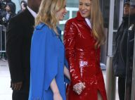 Fashion Week : Blake Lively, canon en rouge, comme Deadpool !