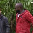 """Maître Gims et Kendji Girac dans """"L'aventure Robinson"""" le 16 février 2018."""