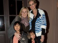 Laeticia Hallyday occupe ses filles à New York avec Jean Reno et Hélène Darroze