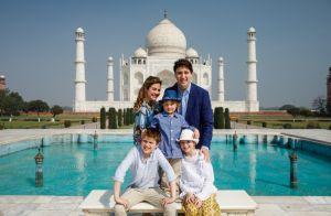 Justin Trudeau : Superbe visite avec sa femme et ses enfants en Inde