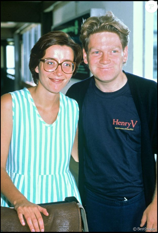 Emma Thomson et Kenneth Branagh en 1989