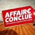 "Logo de l'émission ""Affaire conclue""."