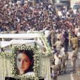 Les funérailles de Sridevi, star de Bollywood, à Mumbai en Inde le 28 février 2018