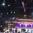 """Exclusif - Patrick Sébastien - Enregistrement de l'émission """"Le plus grand cabaret du monde"""" à la Plaine Saint-Denis le 16 janvier 2018, diffusée le 3 mars 2018. © Bahi/Bestimage16/01/2018 - La Plaine Saint-Denis"""