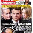 France dimanche, en kiosques ce vendredi 2 mars 2018.