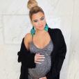 Khloé Kardashian (enceinte de son premier enfant) sur une photo publiée sur Instagram. Février 2018.