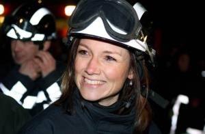 Toutes les princesses des Pays-Bas sont volontaires : même la princesse Aimee, enceinte, joue les... pompiers !