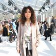 Sofiia Manousha au défilé de Léonard, collection prêt-à-porter automne-hiver 2018/2019, à Paris, le 5mars 2018 © CVS-Veeren / Bestimage