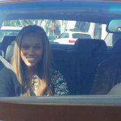 Tyra Banks, même sans maquillage... elle reste un vrai top ! Que c'est énervant...