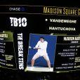 Marion Bartoli faisait son come-back lors du mini-tournoi d'exhibition Tie Break Tens au Madison Square Garden à New York City, le 5 mars 2018, après sa défaite contre Serena (10-6).