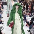 """Défilé de mode """"Valentino"""", collection prêt-à-porter automne-hiver 2018/2019, à Paris. Le 4 mars 2018."""