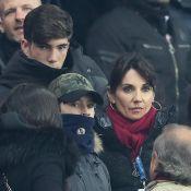 Zinédine Zidane triomphe sous les yeux de sa femme et de ses enfants
