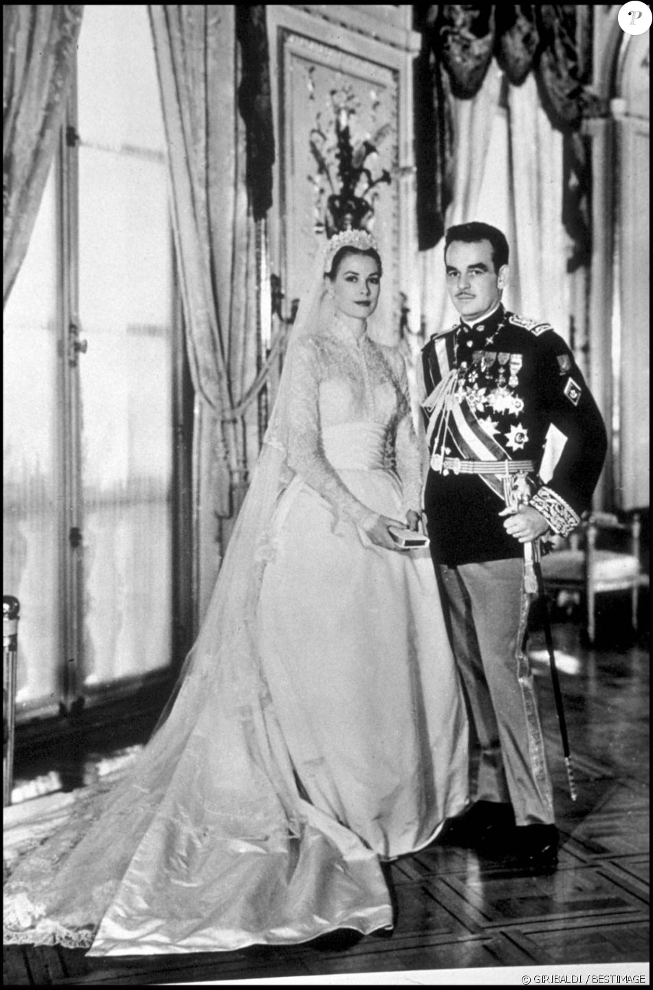 Mariage de Grace Kelly et du prince Rainier