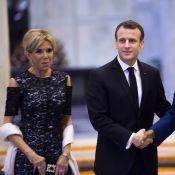 Brigitte Macron infiniment élégante pour son dîner au côté d'Emmanuel en Inde