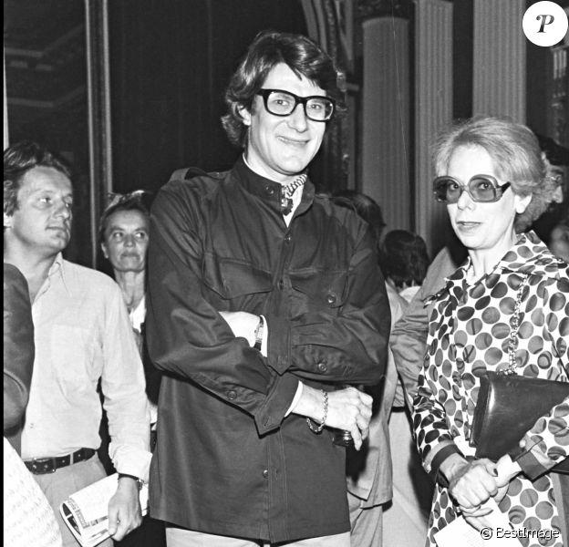 Yves Saint Laurent en 1978.