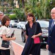 Semi-Exclusif - Le prince Albert II de Monaco et la princesse Caroline de Hanovre lors de la soirée des 20 ans des archives audiovisuelles de Monaco au Grimaldi Forum à Monaco, le 13 juin 2017. © Bruno Bebert/Bestimage
