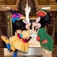 """Exclusif - Atmosphère - Avant-première de la nouvelle saison """"Festival Pirates et Princesses"""" de Disneyland Paris au Palais Garnier à Paris, France, le 9 mars 2018.© Cyril Moreau/Bestimage"""