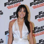 Michelle Rodriguez décolletée jusqu'au nombril et Vin Diesel top classe... s'éclatent à Rome !