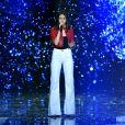 """Exclusif - Marina Kaye - Emission """"La chanson de l'année fête la musique"""" dans les arènes de Nîmes, diffusée en direct sur TF1 le 17 juin 2017. © Bruno Bebert/Bestimage"""