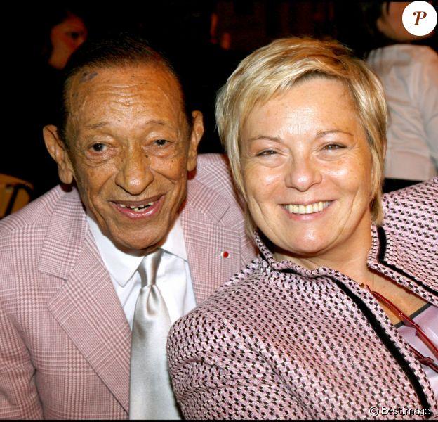 Henri et Catherine Salvador à Paris, le 29 octobre 2007.