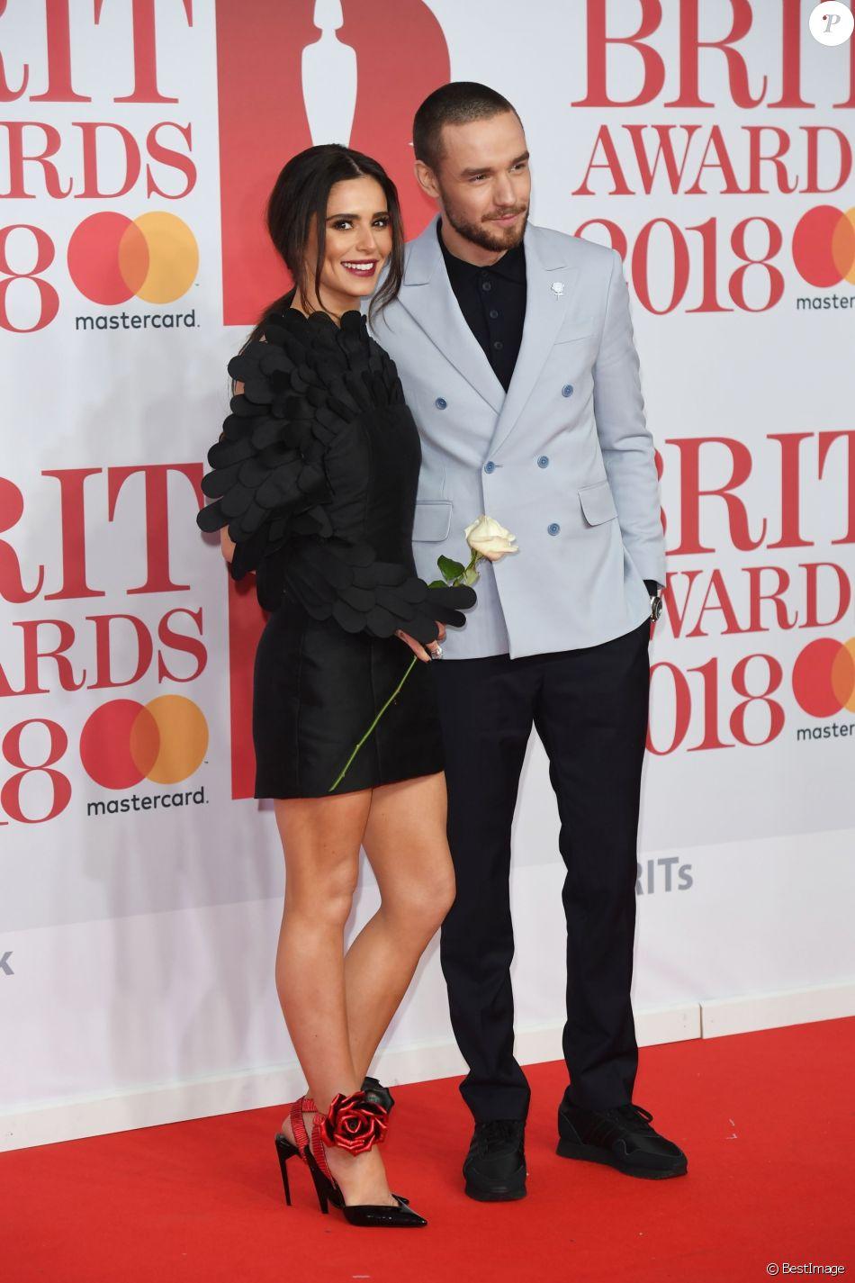 Cheryl Cole et Liam Payne - 38e cérémonie des Brit Awards, le 21 février 2018 à Londres