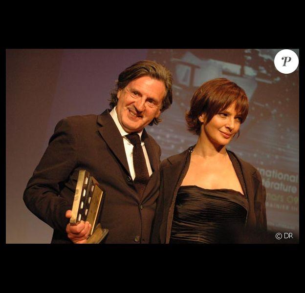 Daniel Auteuil et Laura Morante, le samedi 21 mars, à Monaco.