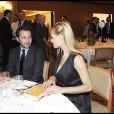 Luigi de Laurentiis et la très jolie Michelle Hunziker, à l'occasion du Prix du Journalisme 2009, à l'Hotel Four Seasons, à Milan, le 26 mats 2009 !