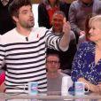 """Agustin Galiana dans """"Les Enfants de la télé"""" sur France 2, le 25 mars 2018."""