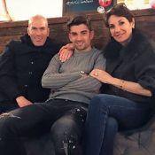 Zinédine Zidane et ses charmants fils réunis pour un anniversaire différent