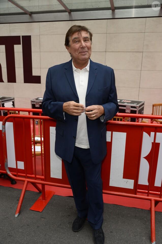 Jean-Pierre Foucault - Conference de presse de rentree de RTL a Paris le 10 septembre 2013.