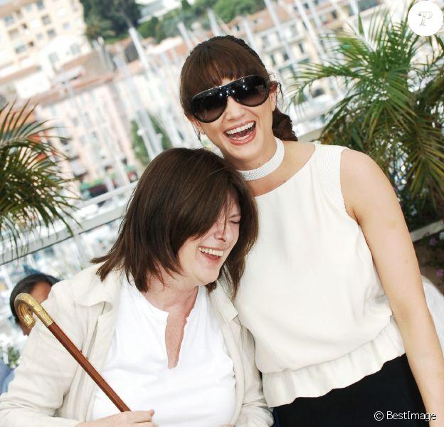 Catherine Breillat et Asia Argento à Cannes en 2007.