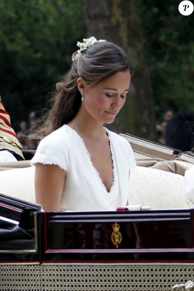 Pippa Middleton - Mariage de Kate Middleton et du prince William d'Angleterre à Londres. Le 29 avril 2011  Files photos - The Royal Wedding in London. On april 29th 201129/04/2011 - Londres