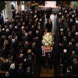 Obsèques de Stephen Hawking à l'église St Mary the Great de l'université de Cambridge. Le 31 mars 2018.