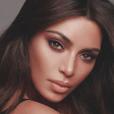 Kim Kardashian, photo de campagne pour sa marque KKW Beauty. Mars 2018.