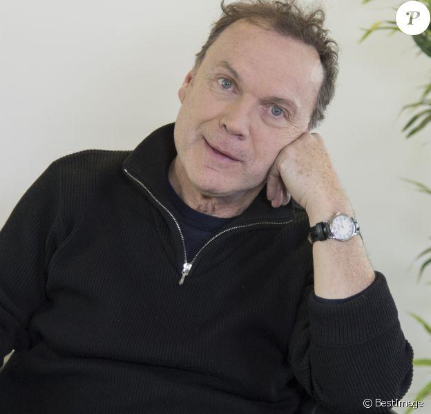 Exclusif - Rendez-vous avec Julien Lepers dans les locaux de Webedia pour une interview pour Purepeople à Levallois-Perret. Le 20 janvier 2017. © Pierre Perusseau / Bestimage