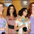 Felicity Huffman, Teri Hatcher, Eva Longoria et Marcia Cross aux Screen Actors Guild Awards en janvier 2006