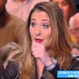 """Ayem Nour défendue par Magali Berdah dans """"Touche pas à mon poste"""", C8, vendredi 13 avril 2018"""