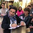Frédéric Longbois (The Voice 7), superstar à Disneyland le 15 avril 2018.