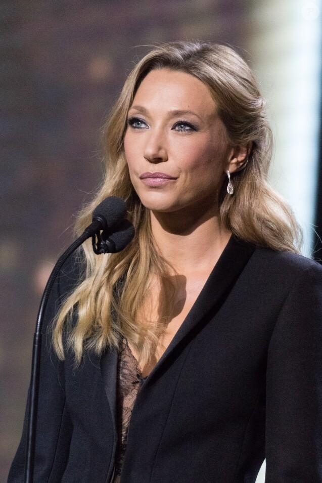 Laura Smet (bijoux Messika)- 43e cérémonie des Cesar à la salle Pleyel à Paris, le 2 mars 2018. © Dominique Jacovides - Olivier Borde / Bestimage