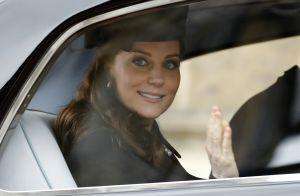 Kate Middleton, enceinte : De retour à Londres, prête à accoucher !