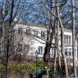 La Villa Solbacken, résidence du prince Carl Philip et de la princesse Sofia de Suède, à Stockholm le 30 mars 2018.