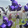 Tyka Nelson sort de la résidence Paisley Park pour saluer les fans de son frère Prince, le 23 avril 2016.