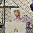 Illustration de Paisley Park, la résidence de Prince où il a été retrouvé sans vie le 21 avril dernier, et où de nombreux fans sont venus se recueillir en sa mémoire, le 23 avril 2016.