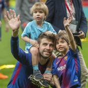 Gerard Piqué roi d'Espagne avec ses fils, Shakira en retrait